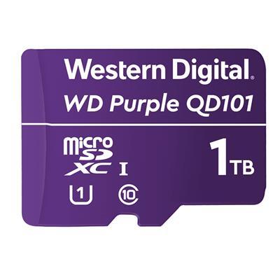 Tarjeta microSD WD Purple QD101 1TB