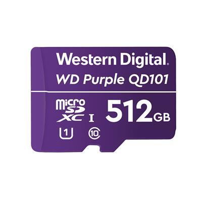 Tarjeta microSD WD Purple QD101 512GB