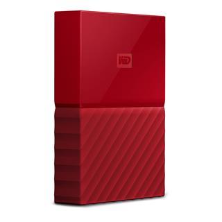 "Disco Duro Externo WD My Passport 4 TB 2.5"" USB 3.0 Rojo"