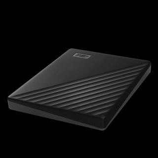 Western Digital HDD EXT MY PASSPORT 2TB BLACK