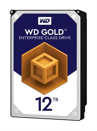 "Western Digital HDD Gold 12TB SATA 256MB 3.5"""