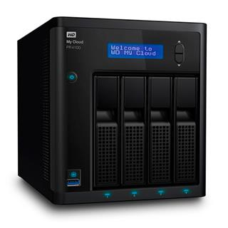 Western Digital My Cloud PR4100 NAS Ethernet Negro