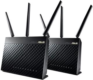 Router ASUS wireless RT-AC68U PK2 2 Unidades