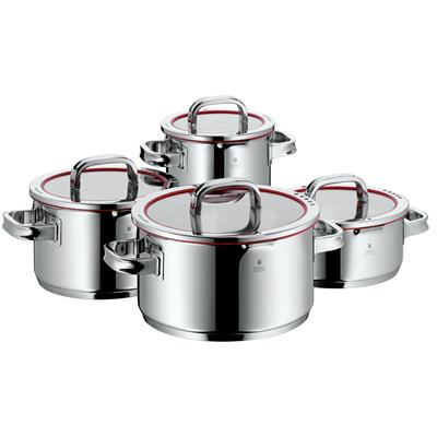 WMF Function 4 Pot-Set. 4pc. with glasslid. for ...