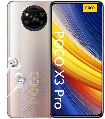 "Xiaomi Poco x3 Pro 6GB 128GB 6.67"" Metal Bronze"
