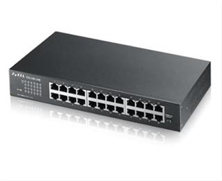 ZYXEL GS1100-24 SWITCH                24 PORT GIGABIT UNMANAGED